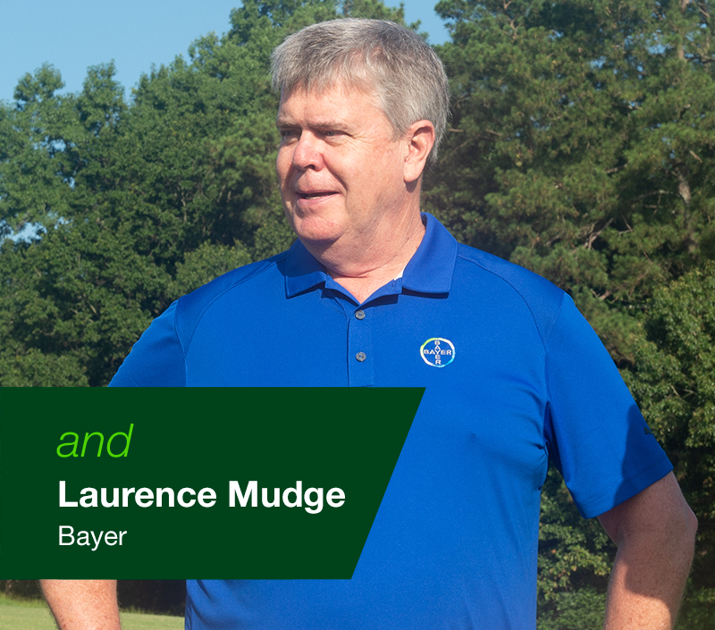 Laurence Mudge Bayer Lawn Representative